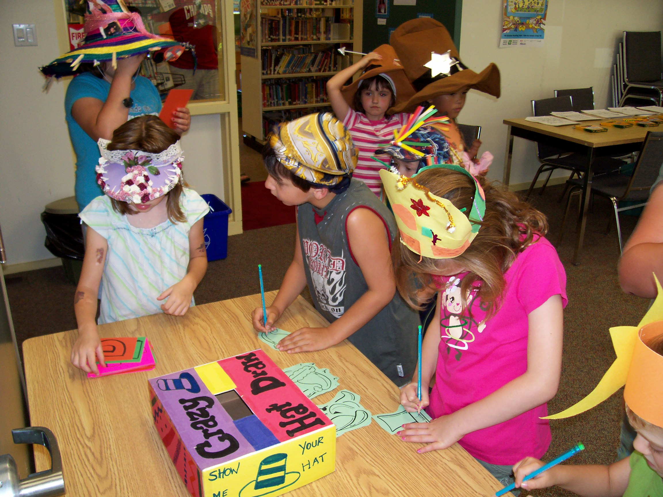 Crazy Hat Day Tales From An Open Book