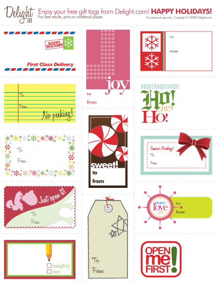 Print your own gift tags tales from an open book negle Choice Image