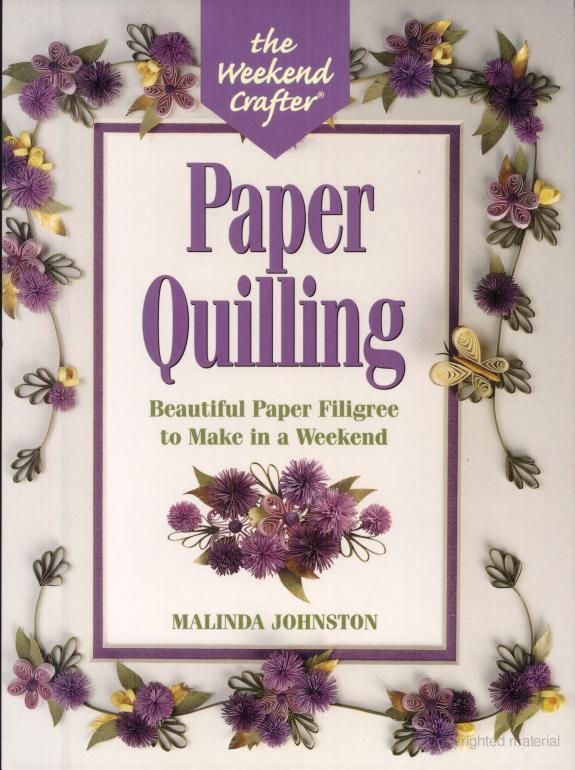 The Art of Paper Quilling Book The Art of Paper Quilling