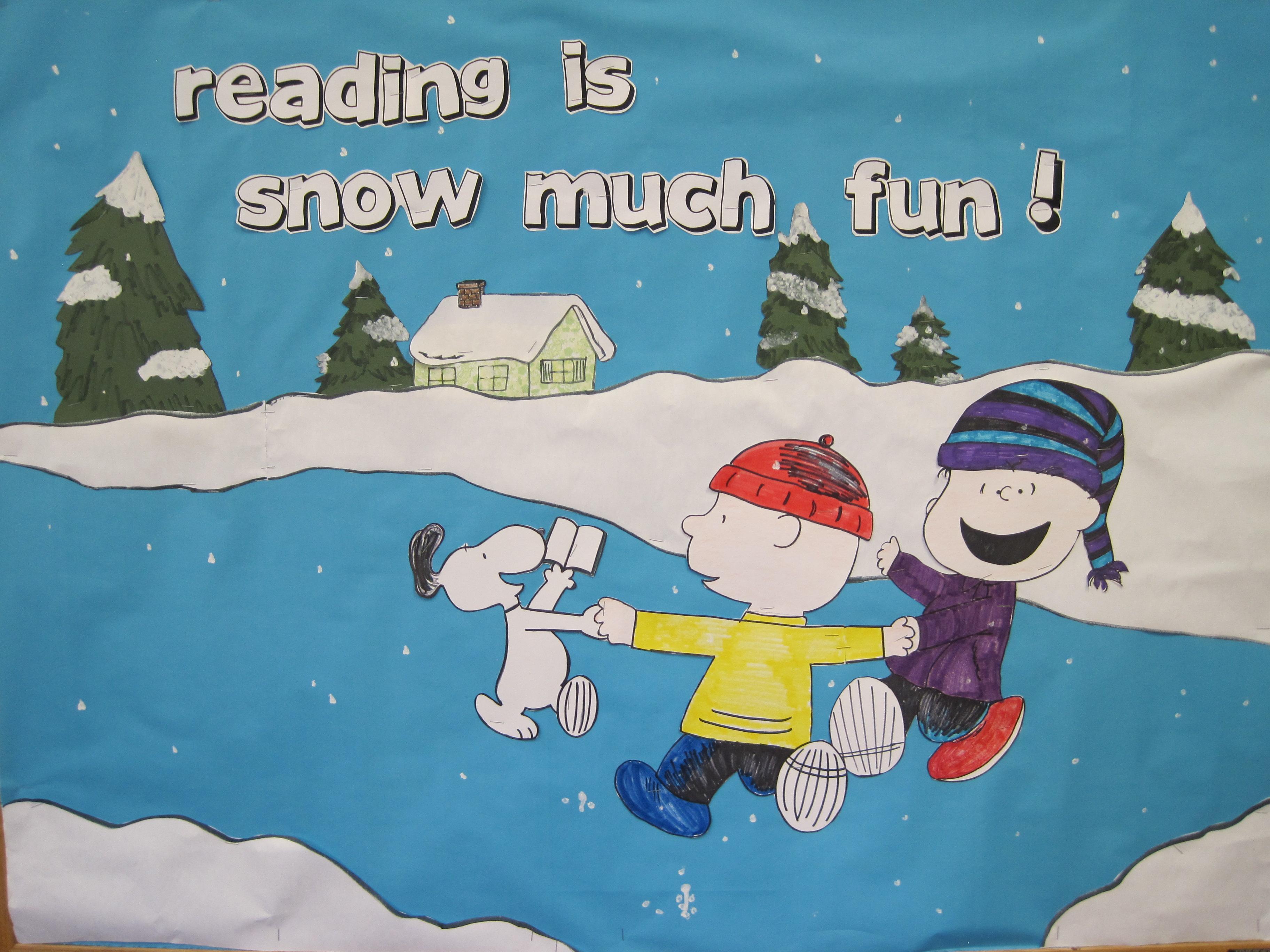 Winter Bulletin Boards Tales From An Open Book