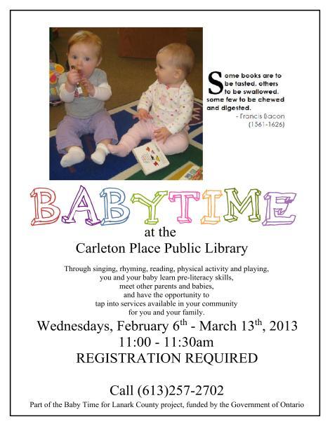 Babytime Poster 2013