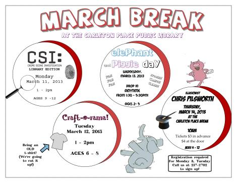 March Break 2013