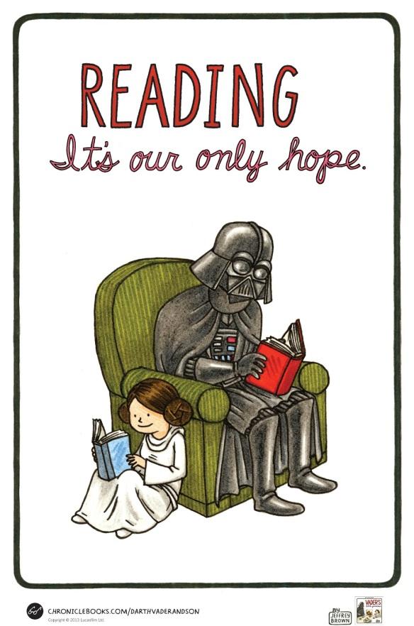 9654 Vader's Little Princess Poster
