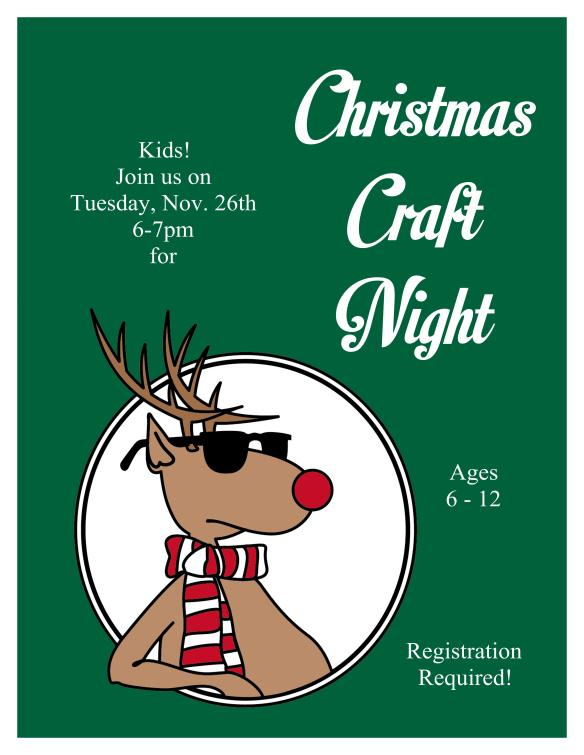 Christmas Craft Night 2013