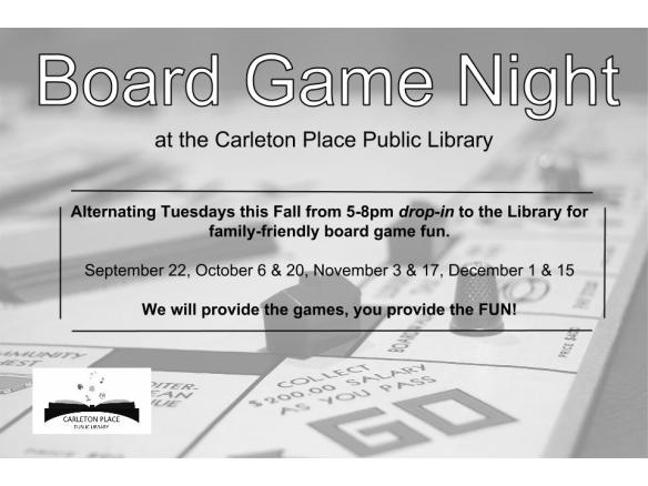 Board Game Night Poster