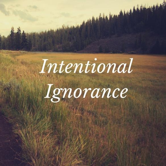 IntentionalIgnorance