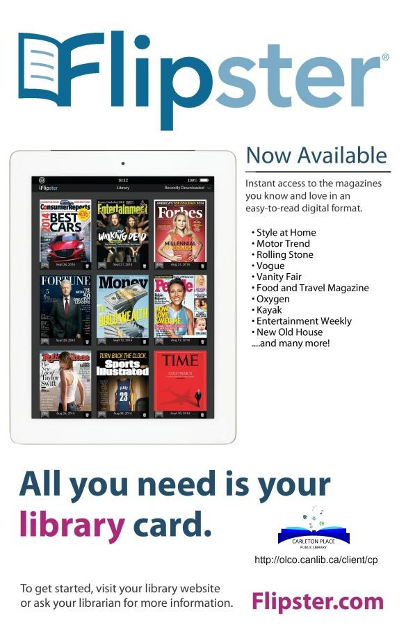 Flipster online magazines