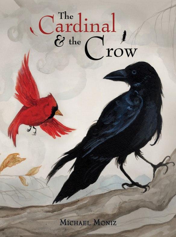 Cardinal-and-the-Crow-Web