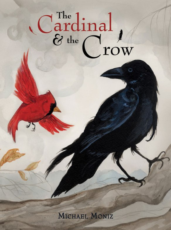 Cardinal-and-the-Crow-Web