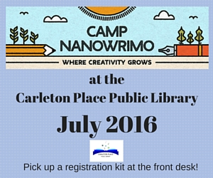 at theCarleton Place Public Library