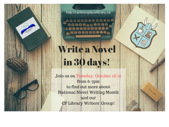 Write a Novelin 30 days!