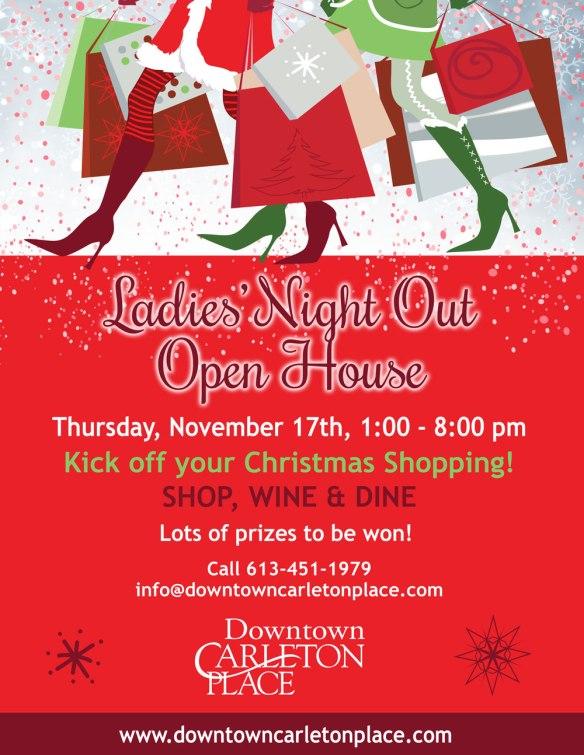 Ladies Night Out Carleton Place