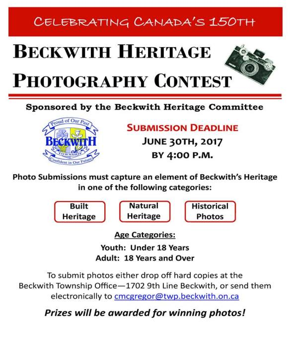 Beckwith Township Photo Contest